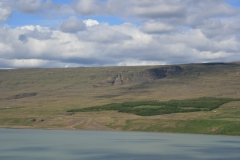 2007 – Fieldwork, Hengifoss Waterfall, East Iceland