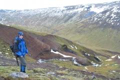 2004 – Fieldwork, Hrútagil Gully, Mókollsdalur Valley, Iceland