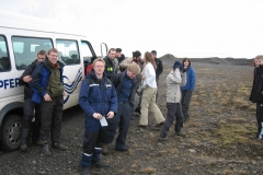 2006 – Teaching , Field Course, Hreðavatn Lake, West Iceland